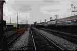 Deadhead Amtrak Auto Train at Birmingham