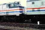Deadhead Amtrak Auto Train at Birmingham