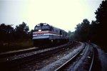 Deadhead Amtrak Auto Train at Birmingham (Black Creek)