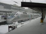 Dec. 7, 2003 Snowstorm at South Station - Boston