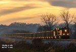 Evening BNSF 6417