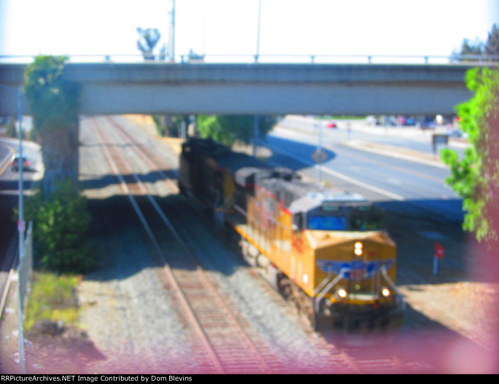 Union Pacific AC45ACCTE #5423 leads a Southbound Power Move