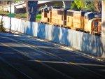 SD70M 4681 tags along on Rail Train at Blossom Hill