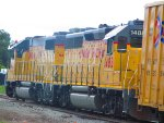Union Pacific 1488 Tagging Along on the North San Jose Switcher