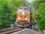 Union Pacific AC45CCTE #5268 Leads the MRVSJ-07 Past Sunol