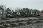 A duo of SD70Ace's take an empty coal train west.