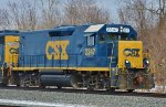 CSX 2347 is a nice quiet ride.