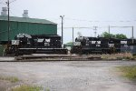 SD40-2 and yard power