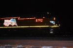 UP 8792 waits for the Conductor to remove the D Rail on the west End of the Salt Lake Intermodal Yard.