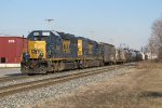 Y106 heads east with CSX 6364 & 6074 for power