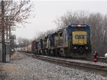 Rolling through Lamar, 7585 heads for 2 Track with Q326