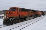 BNSF 6120 & 6221