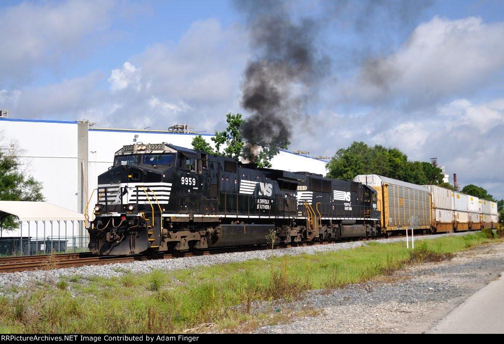 NS 9959 on NS 285