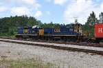 CSX 1155 on CSX Port Job