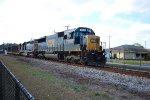 CSX 8663 on CSX M744