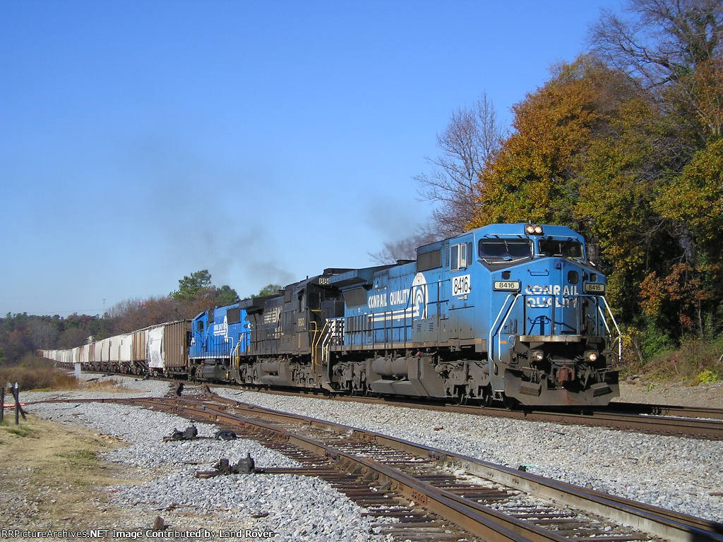 NS 8416 On NS 55 A Southbound