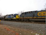 CSX 2735 and 814