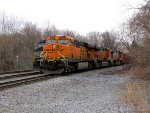 BNSF 6077, 6381, and 4706