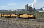 UP 4191 Northbound Past Boise Wallula Pulp Mill
