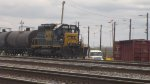 CSX 8459 waits for action