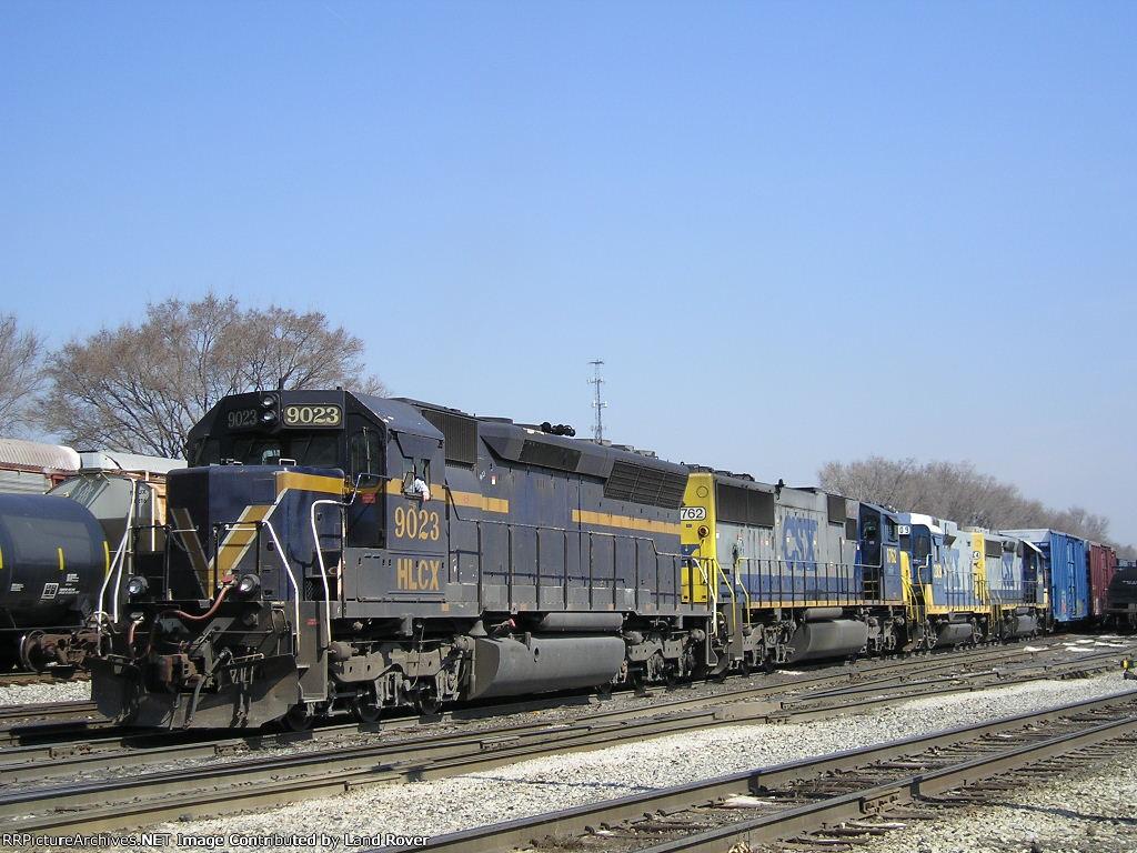 HLCX 9023 On CSX J 781 South