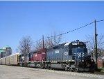 HLCX 6331 On CSX Q 245 Eastbound