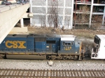 """My Locomotive"", the CSX 4758"