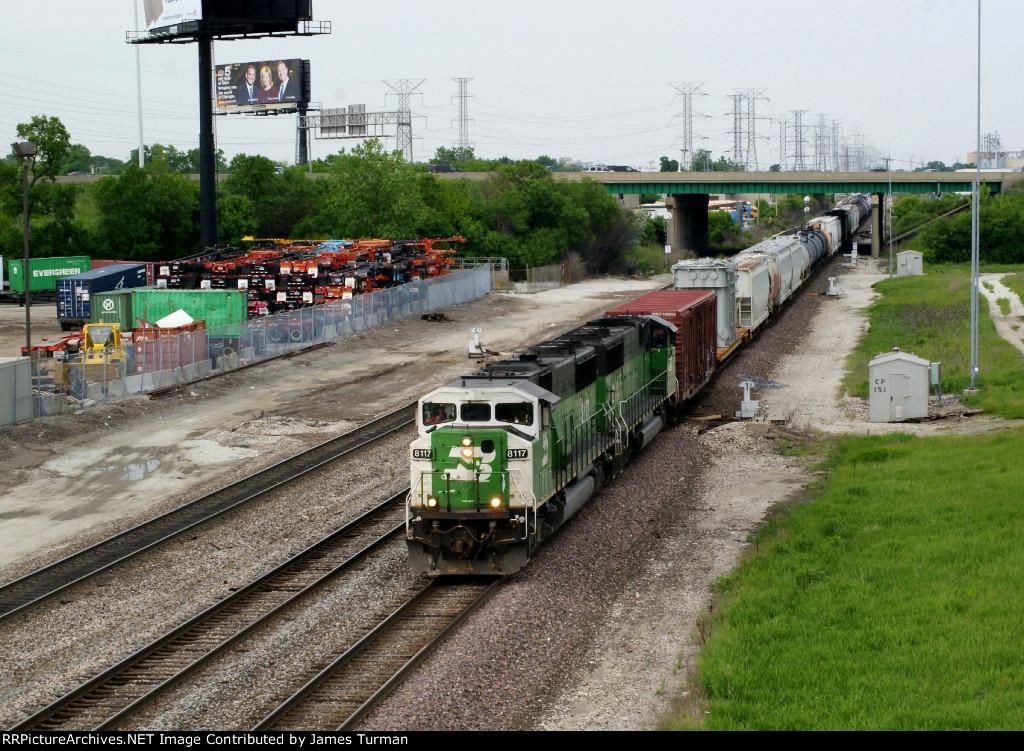 BNSF 8117