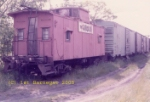 1979.  The last CNJ freight cars