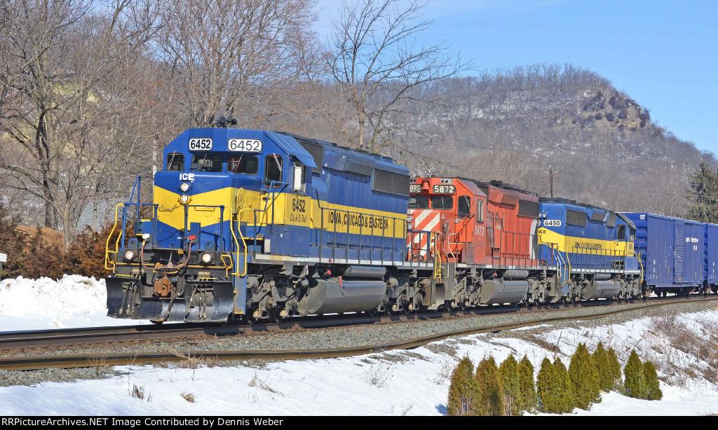 ICE  6452,  CP's   River  Sub.