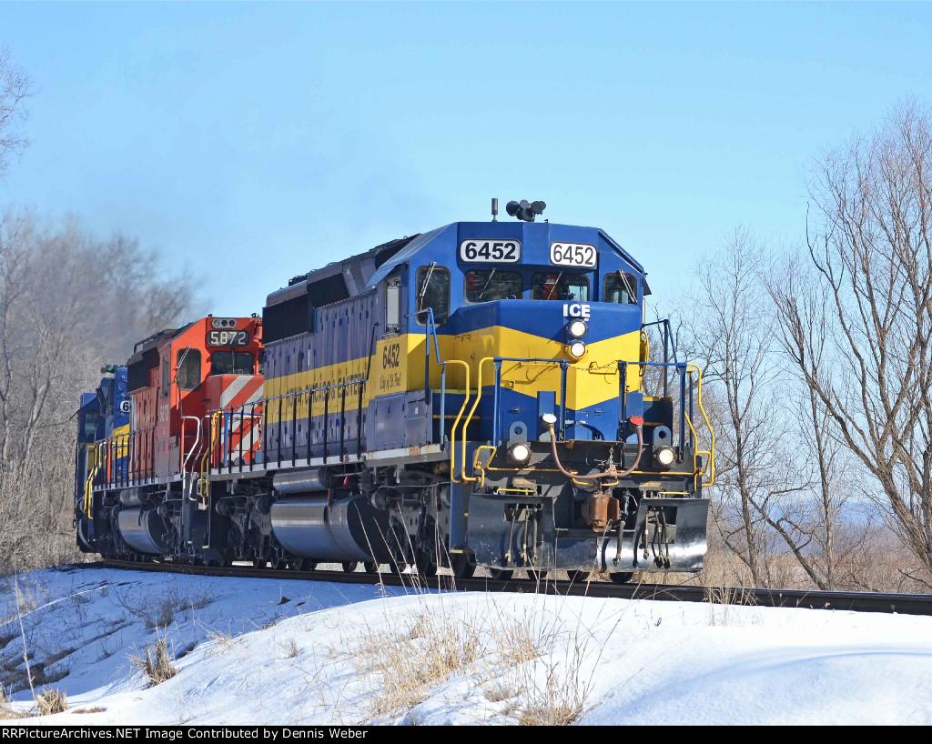 ICE  6452,   ICE's    Marquette   Sub.