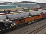 NS and BNSF Trailing on K010