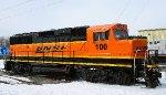 "Repainted ""H4?"" BNSF #100"