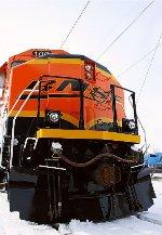 Repainted BNSF #100