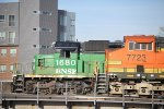 BNSF 1680 BNSF 7723 The Old And The New