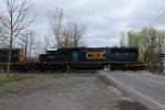 CSXT 2491 on CSX X029