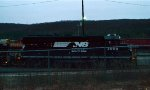 NS GP40-2 3009 in Allentown Yard.