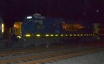CSX SD50-2 8513 trails on Q301-17