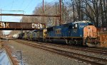 CSX SD70AC 4797 leads Q439-22