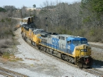 CSX 289 (AC44CW) UP 4971 (SD70M) UP 3887 (SD70M)