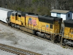 UP 3887 (SD70M)