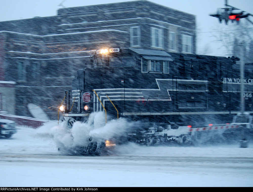 NS 1066 Plowing Snow