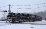 NS 1066 Goes Light Power West all the Way to Mason City