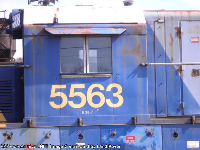 CSXT 5563
