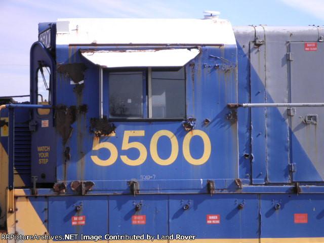 CSXT 5500