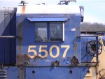 CSXT 5507