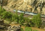 Southwest Chief in the Mojave Narrows
