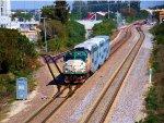 TRCX 802 Florida Tri-Rail Train P621