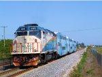 TRCX 805 Pushing Florida Tri-Rail Train P618