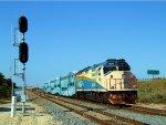 TRCX 805 Pushing Florida Tri-Rail Train P628
